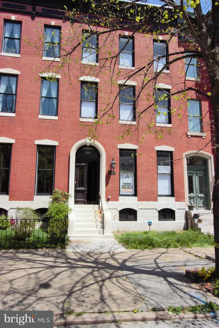 Single Family for Sale at 2519 Madison Ave Baltimore, Maryland 21217 United States