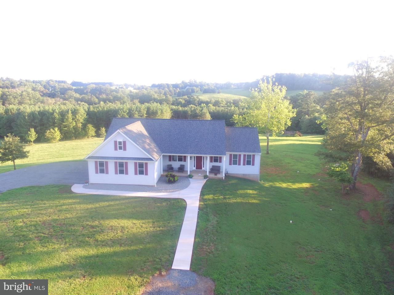 Single Family Home for Sale at 17372 Crookes Farm Road 17372 Crookes Farm Road Rixeyville, Virginia 22737 United States