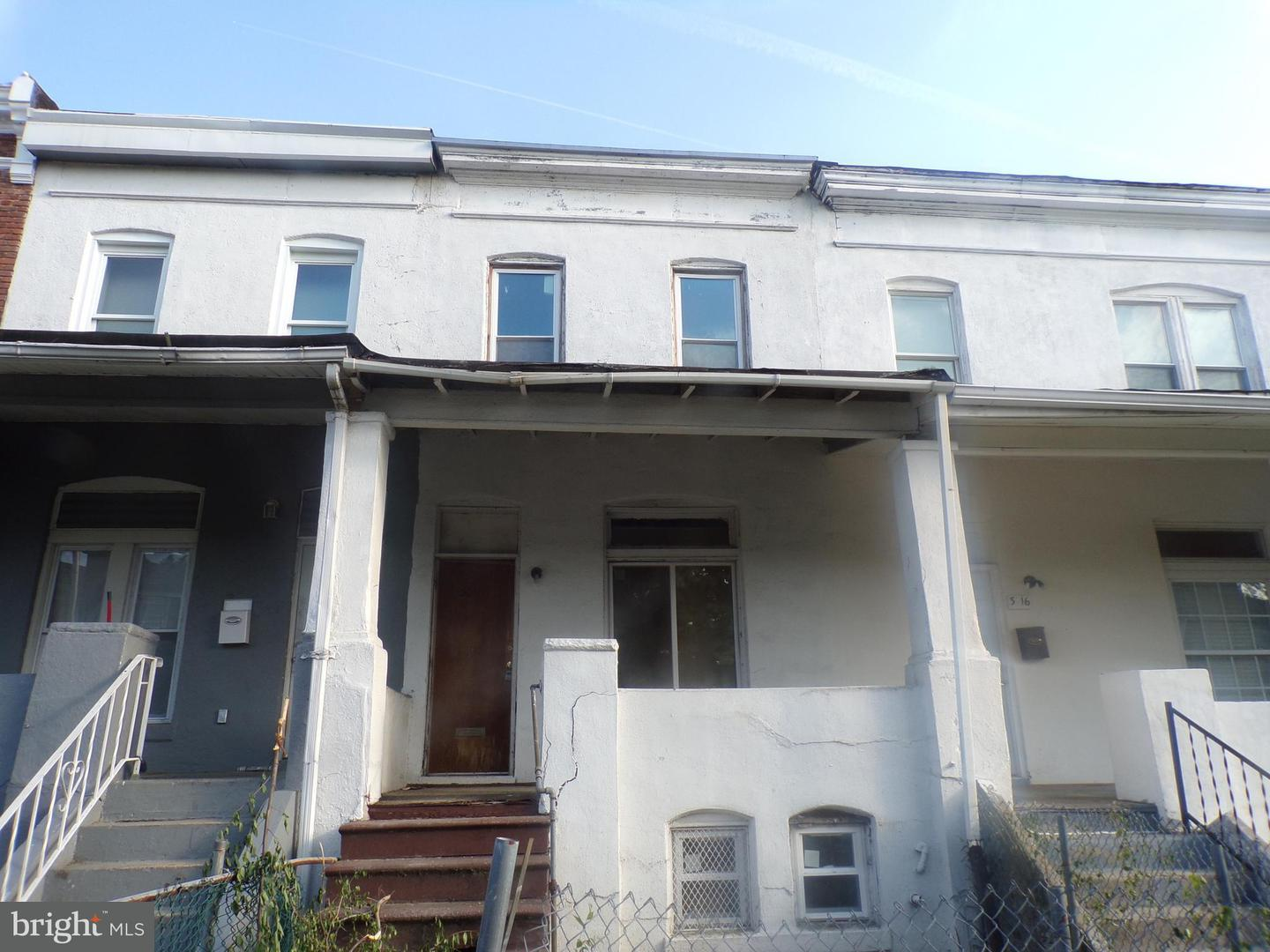 Single Family for Sale at 3018 Oakford Ave Baltimore, Maryland 21215 United States