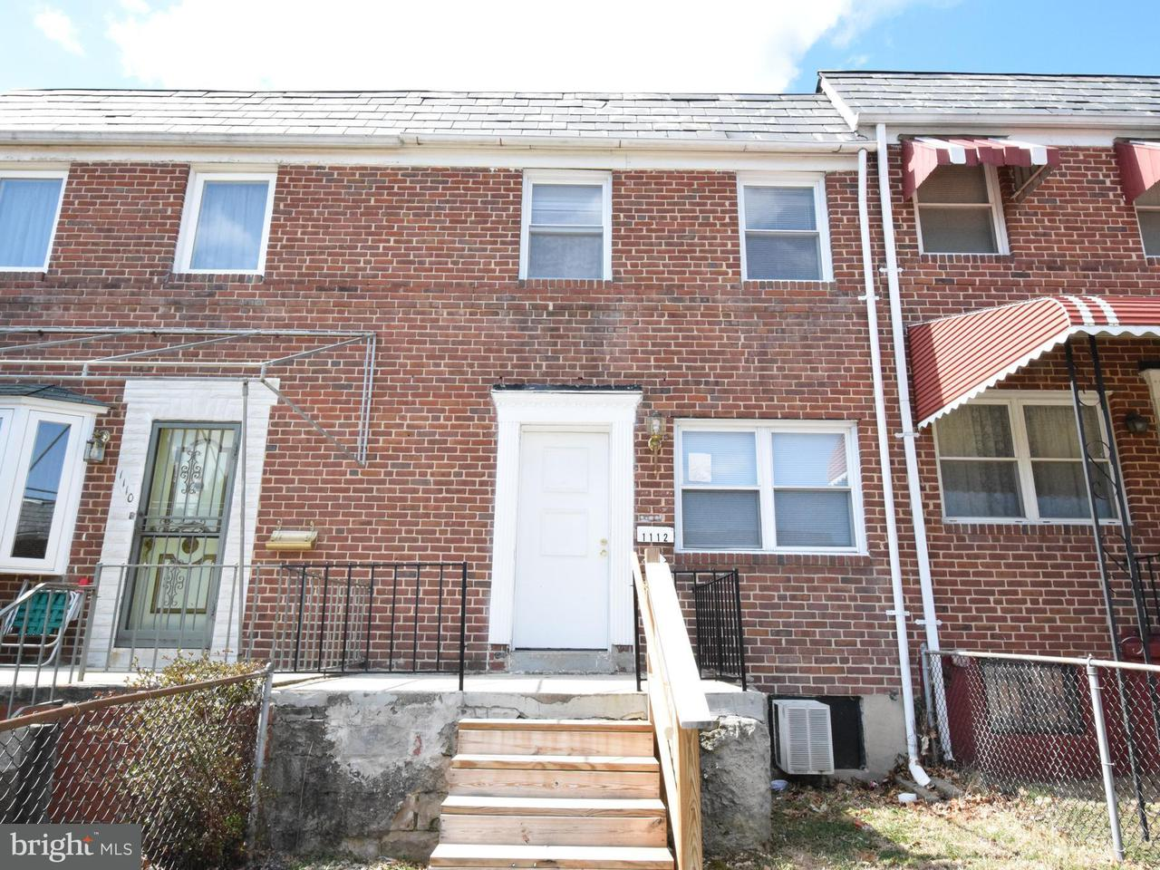 Other Residential for Rent at 1112 Augusta Ave Baltimore, Maryland 21229 United States