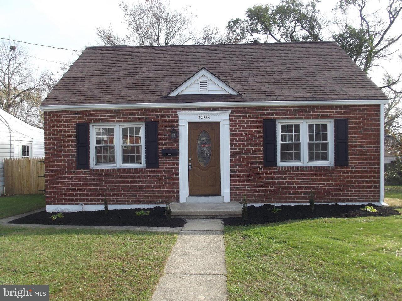 Maison unifamiliale pour l Vente à 2304 HENLOPEN Avenue Marshallton, Delaware 19804 États-Unis