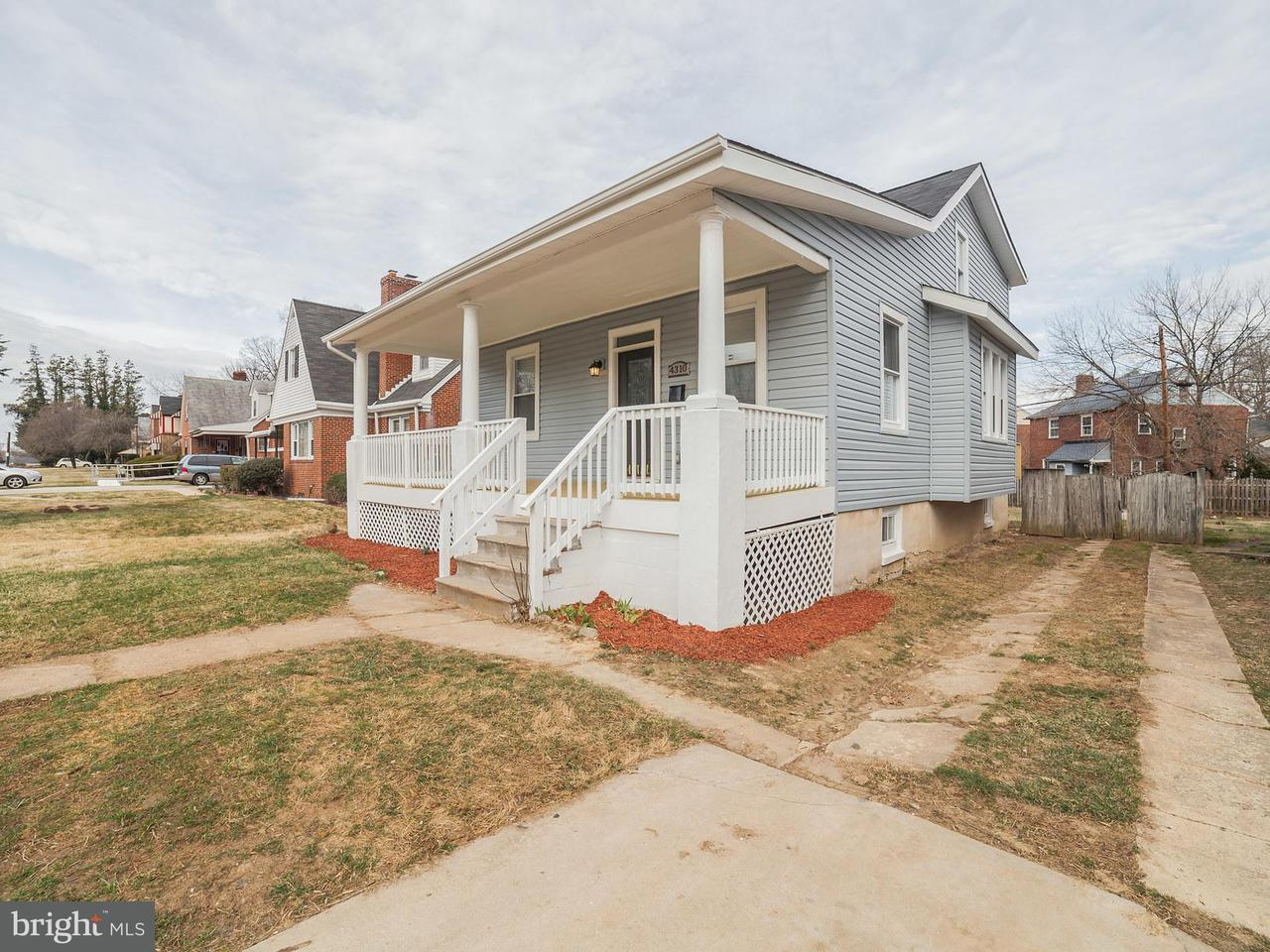 Single Family for Sale at 4310 Forest Park Ave W Baltimore, Maryland 21207 United States