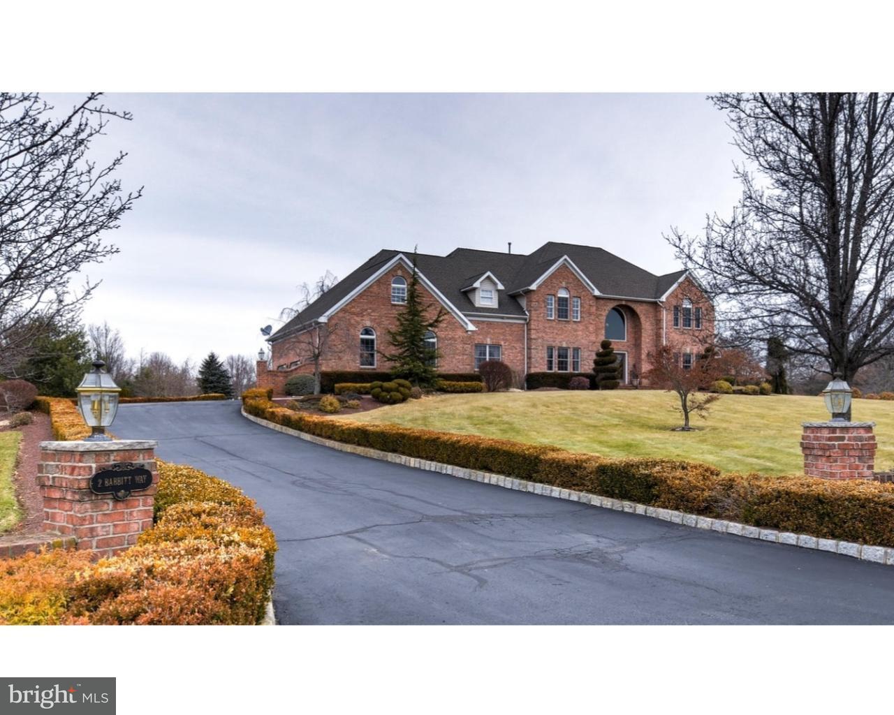 Einfamilienhaus für Verkauf beim 2 BABBITT WAY Allentown, New Jersey 08501 Vereinigte StaatenIn/Rund um: Upper Freehold Township