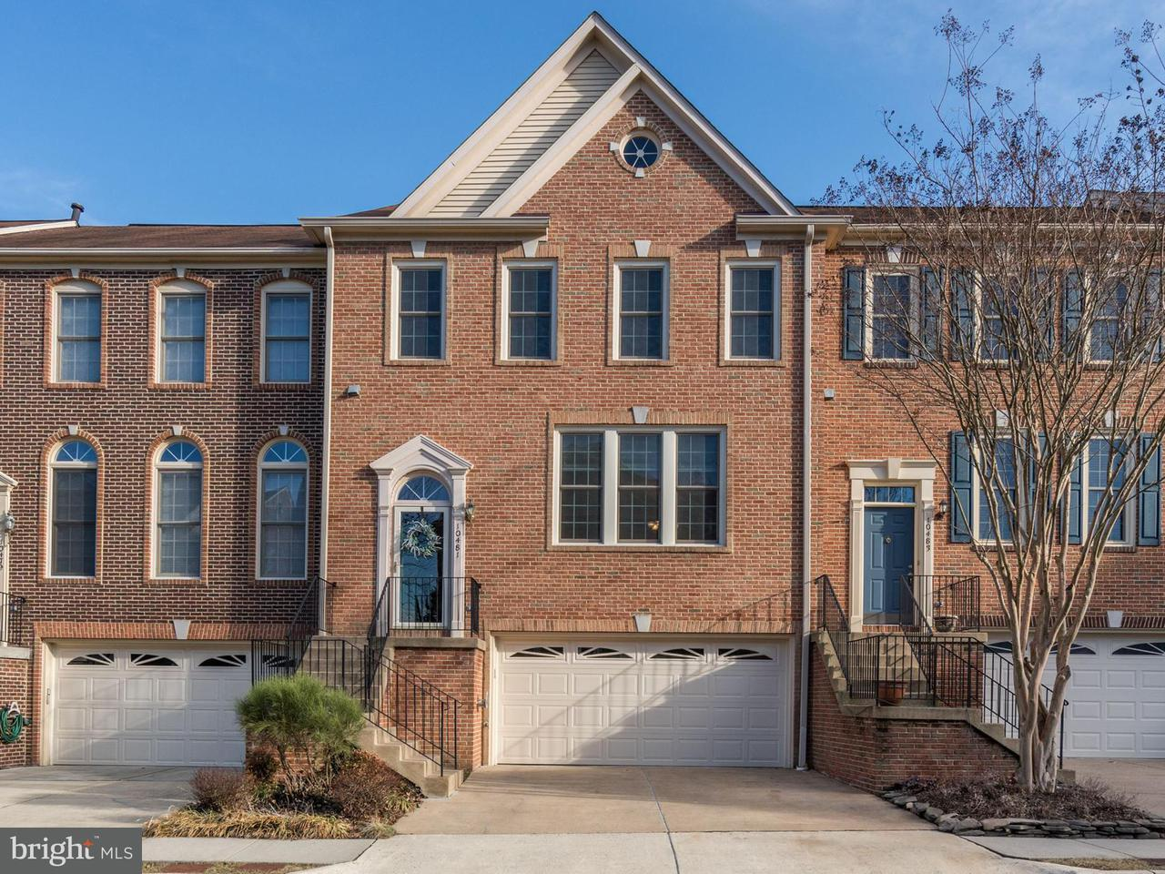 Townhouse for Sale at 10481 Courtney Drive 10481 Courtney Drive Fairfax, Virginia 22030 United States