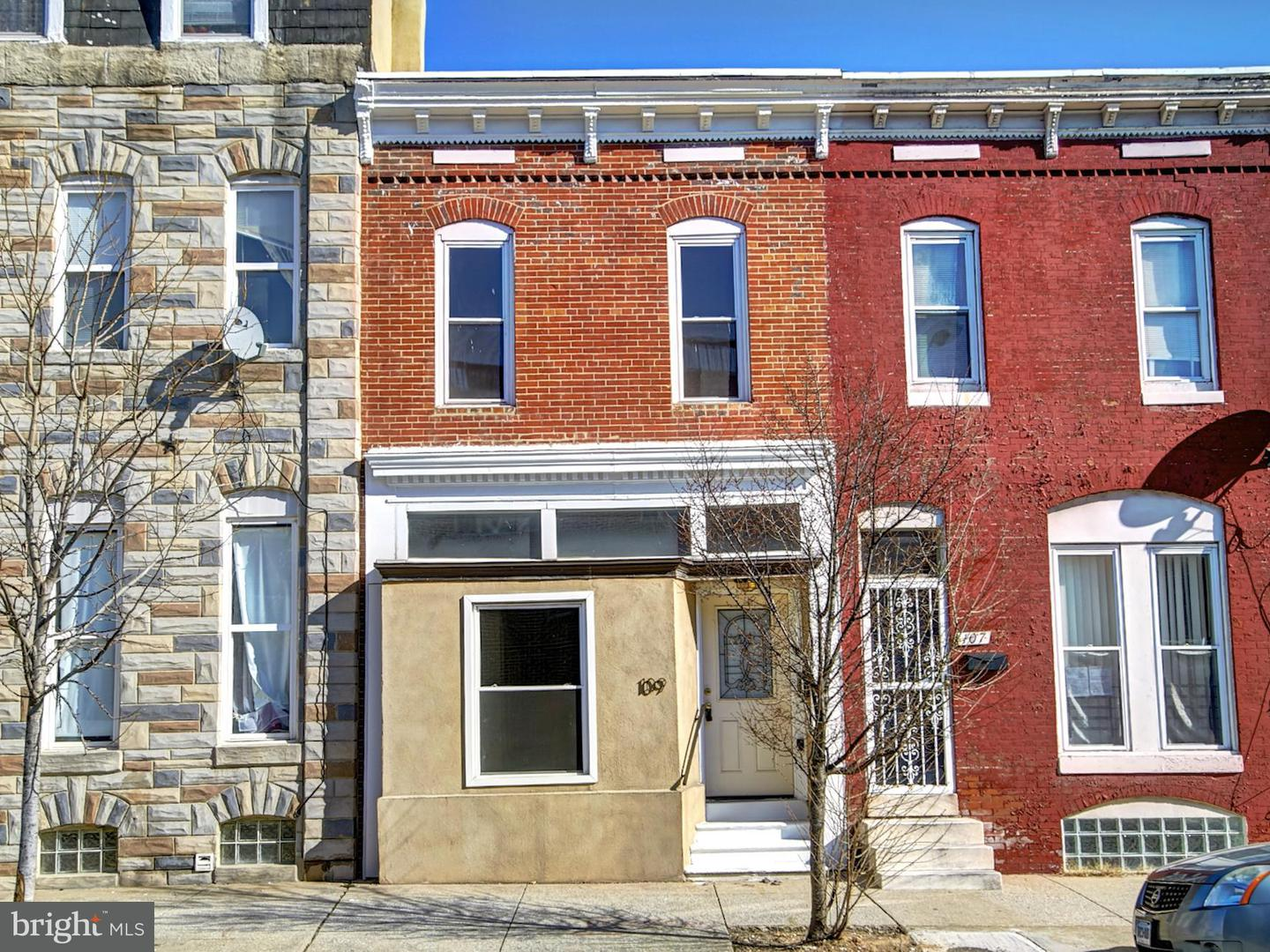 Single Family for Sale at 109 Patterson Park Ave Baltimore, Maryland 21231 United States