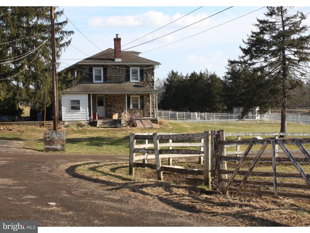 Частный односемейный дом для того Продажа на 704 KULP Road Perkiomenville, Пенсильвания 18074 Соединенные Штаты