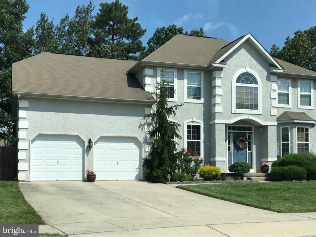 Maison unifamiliale pour l à louer à 20 LOG CABIN Road Sicklerville, New Jersey 08081 États-Unis