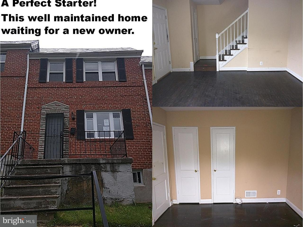 Single Family for Sale at 444 Chapelgate Ln Baltimore, Maryland 21229 United States