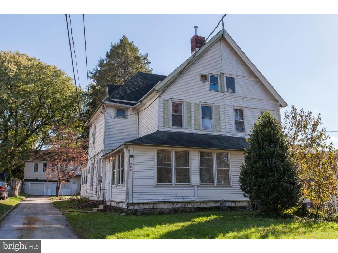 Casa unifamiliar adosada (Townhouse) por un Venta en 706 REDWOOD Avenue Yeadon, Pennsylvania 19050 Estados Unidos