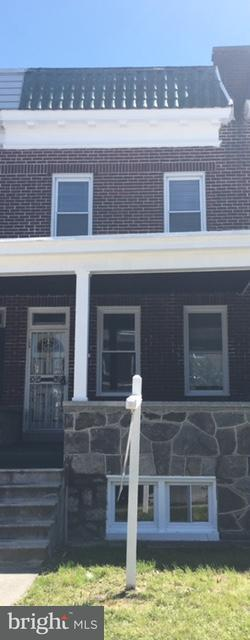 Single Family for Sale at 2303 Mosher St Baltimore, Maryland 21216 United States