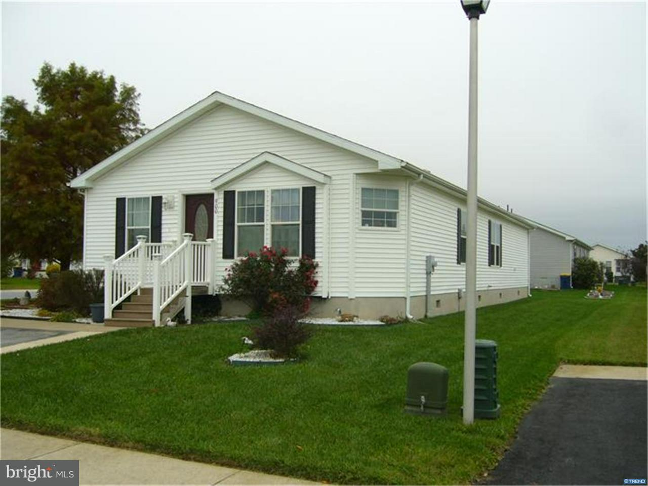 移动之家 为 销售 在 900 APPLEBERRY Drive Smyrna, 特拉华州 19977 美国