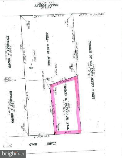 Land for Sale at Clark Rd Worton, Maryland 21678 United States