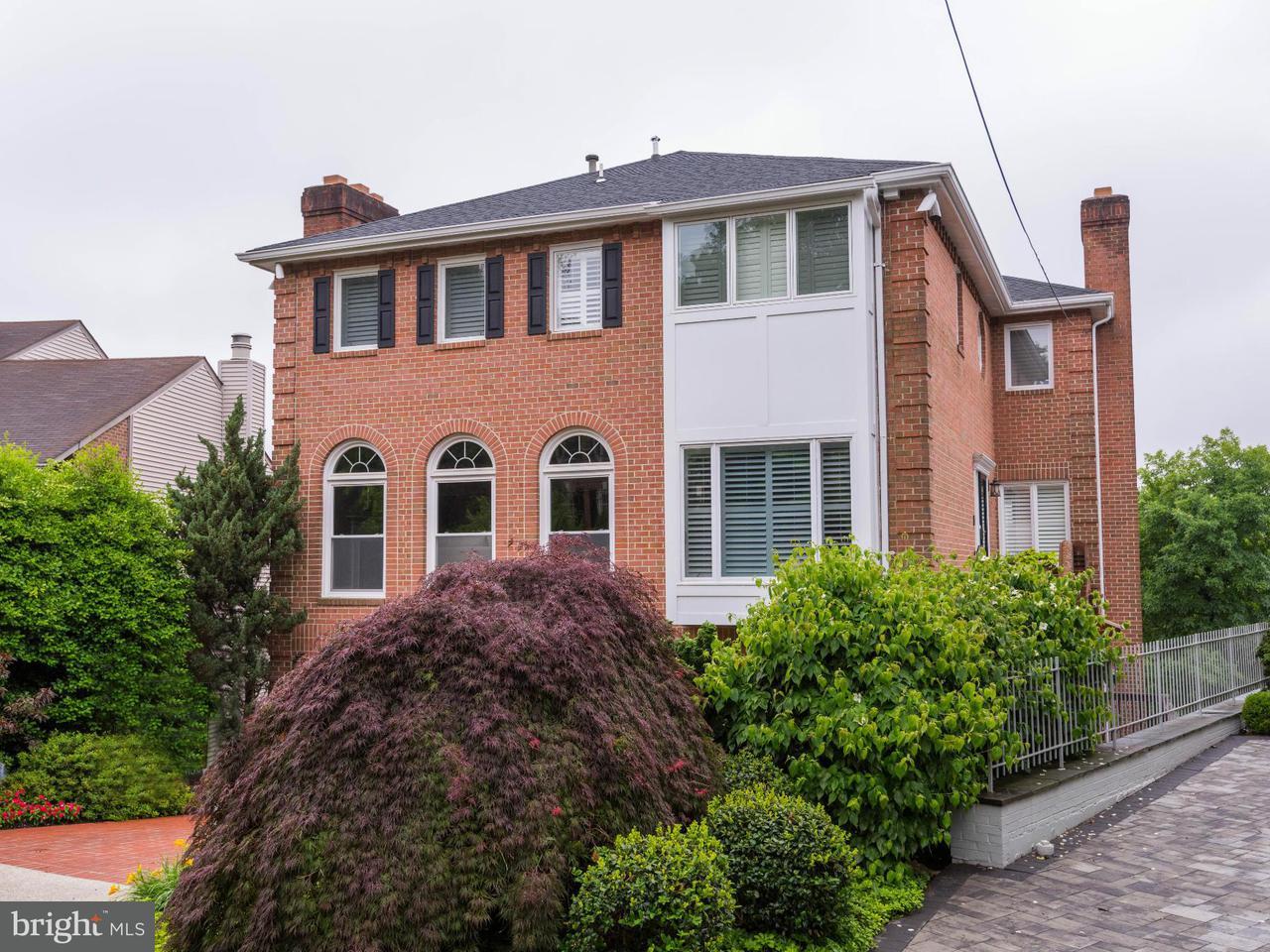 Eensgezinswoning voor Verkoop een t 4662 Charleston Ter Nw 4662 Charleston Ter Nw Washington, District Of Columbia 20007 Verenigde Staten