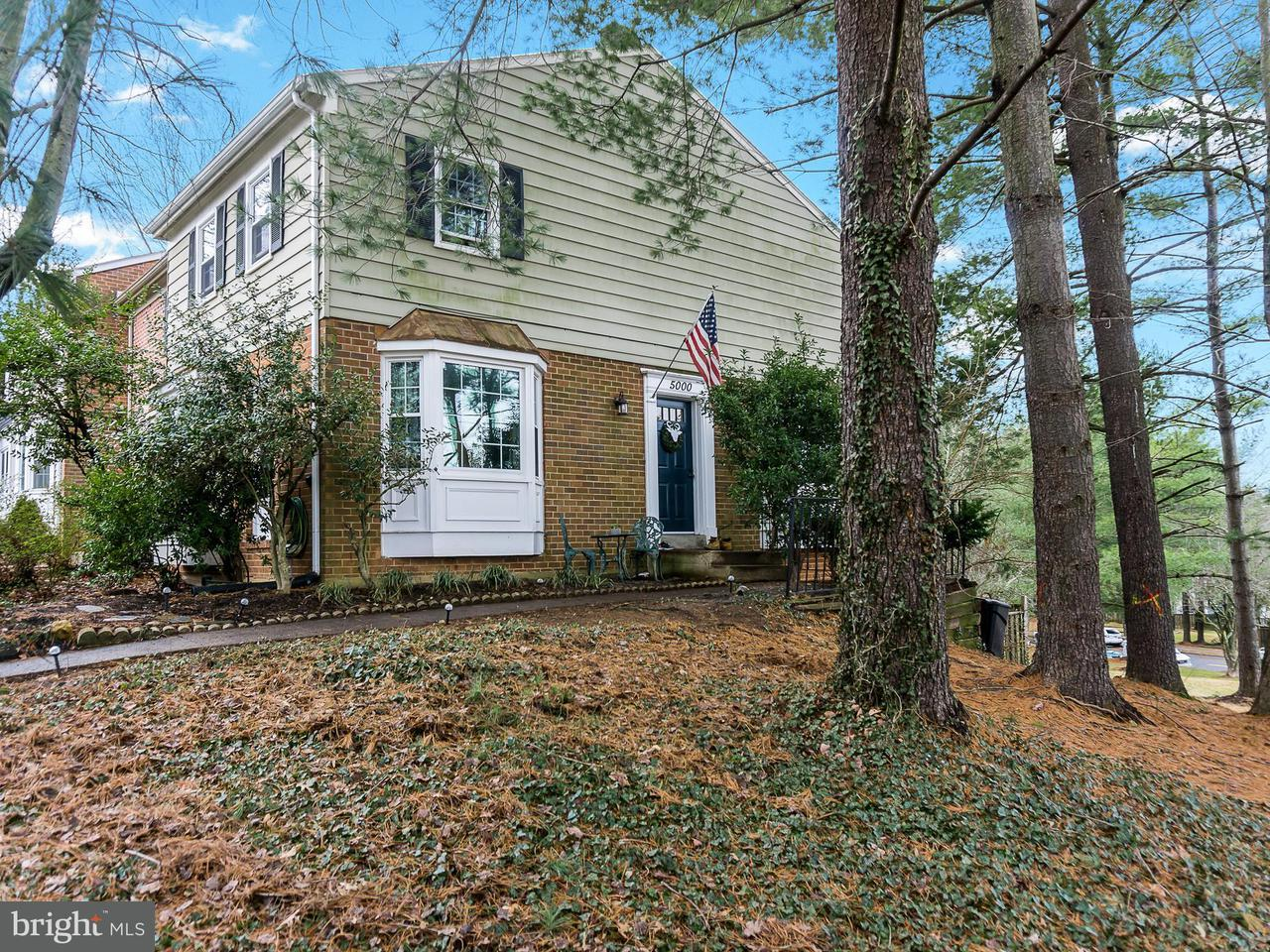 Townhouse for Sale at 5000 Head Court 5000 Head Court Fairfax, Virginia 22032 United States