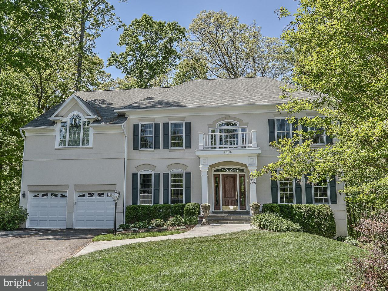 Maison unifamiliale pour l Vente à 12118 Walnut Branch Road 12118 Walnut Branch Road Reston, Virginia 20194 États-Unis