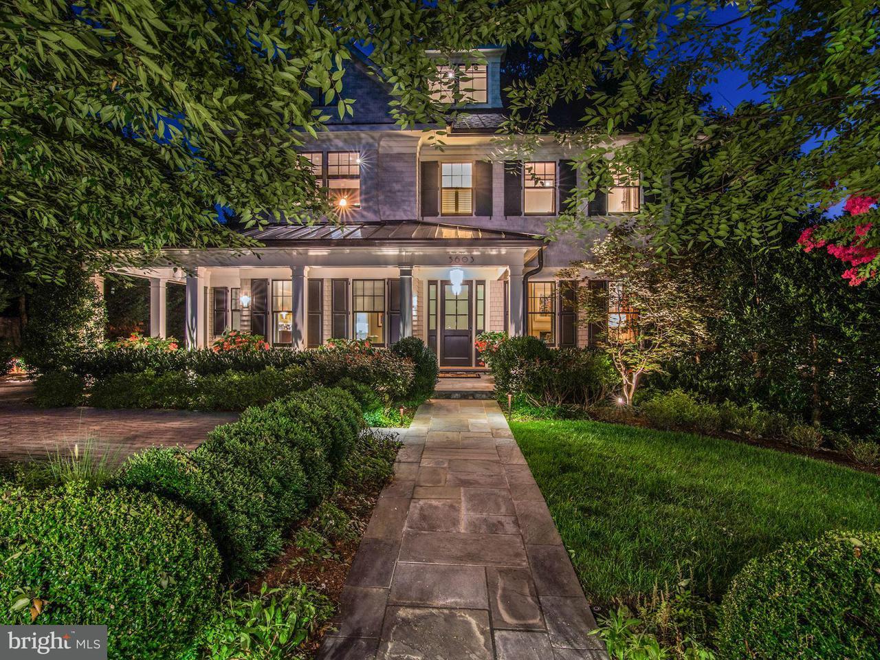 Maison unifamiliale pour l Vente à 5603 Surrey Street 5603 Surrey Street Chevy Chase, Maryland 20815 États-Unis