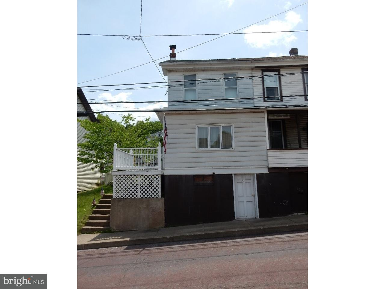 Single Family Home for Sale at 221 HUDSONDALE Street Weatherly, Pennsylvania 18255 United States