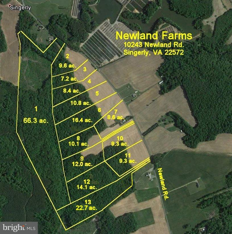 Land for Sale at 0 Newland Rd Warsaw, Virginia 22572 United States