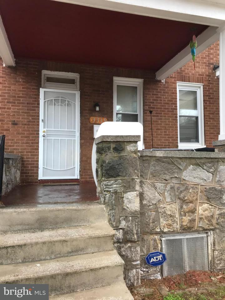Single Family for Sale at 3315 W Garrison Ave Baltimore, Maryland 21215 United States
