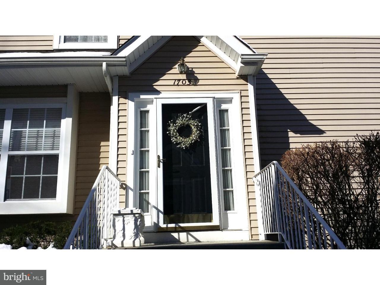 Maison accolée pour l à louer à 1703 DELANCEY WAY Evesham Twp, New Jersey 08053 États-Unis
