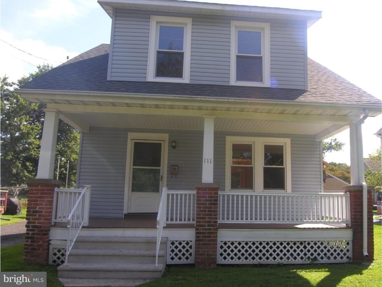 独户住宅 为 出租 在 111 S NORWOOD Avenue 纽镇, 宾夕法尼亚州 18940 美国