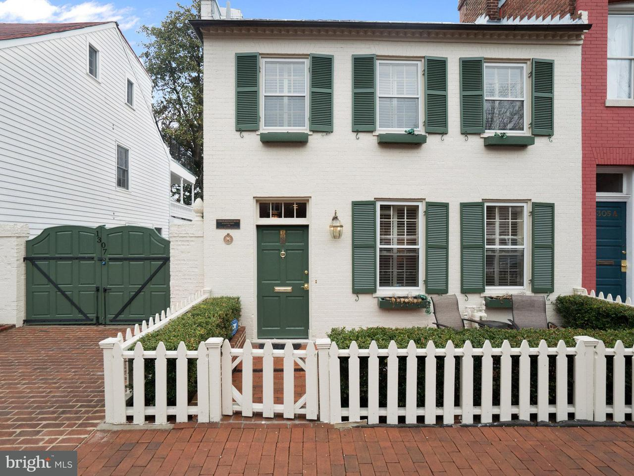 Single Family for Sale at 1307 35th St NW Washington, District Of Columbia 20007 United States