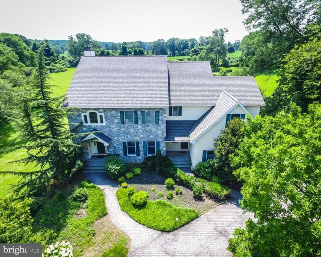 Частный односемейный дом для того Продажа на 1104 CLOVER Lane Glen Mills, Пенсильвания 19342 Соединенные Штаты