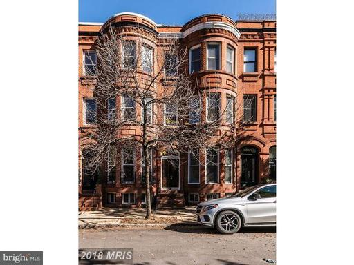 Property for sale at 1819 Bolton St #A, Baltimore,  MD 21217