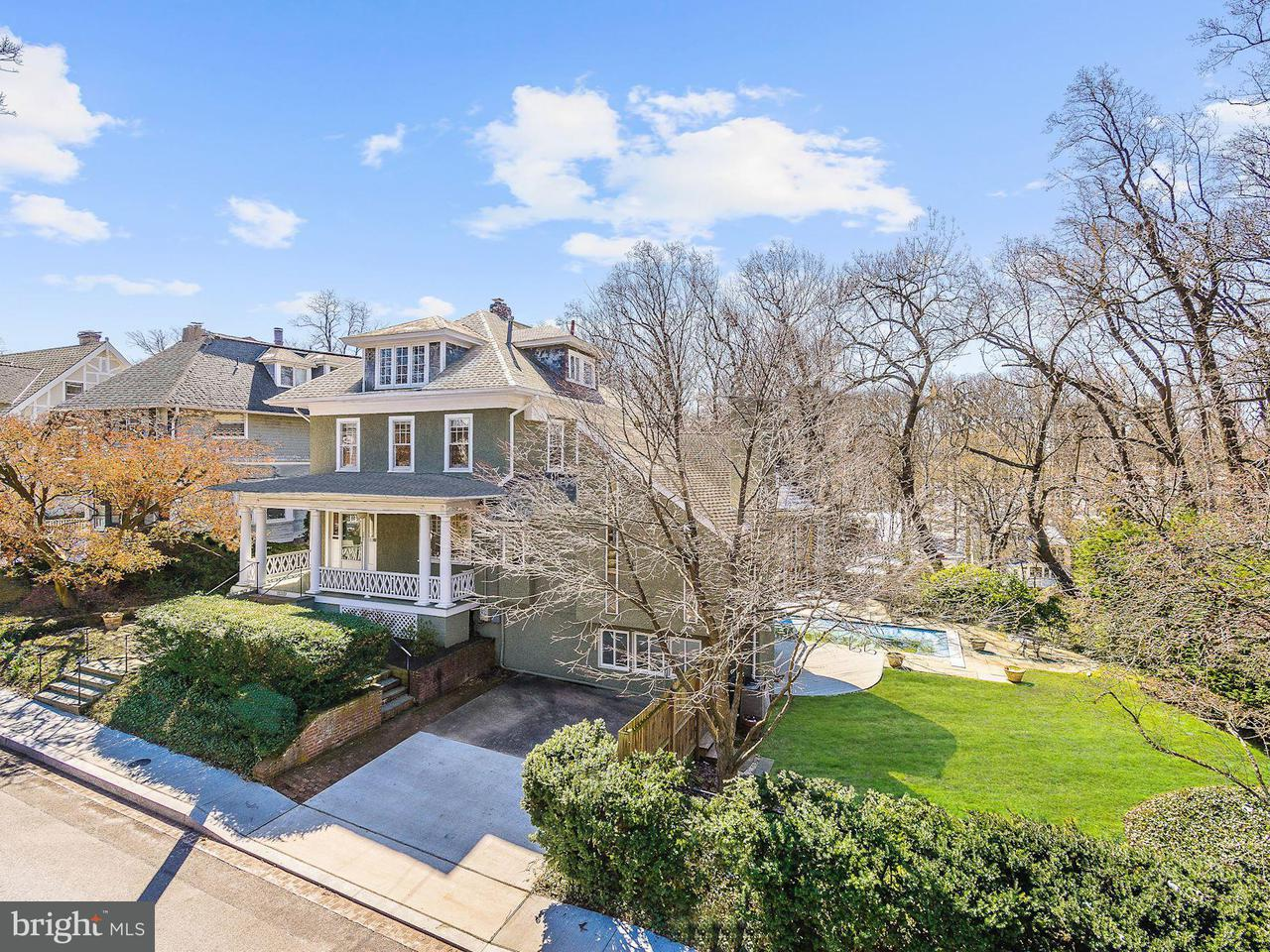 Single Family for Sale at 3122 Newark St NW Washington, District Of Columbia 20008 United States