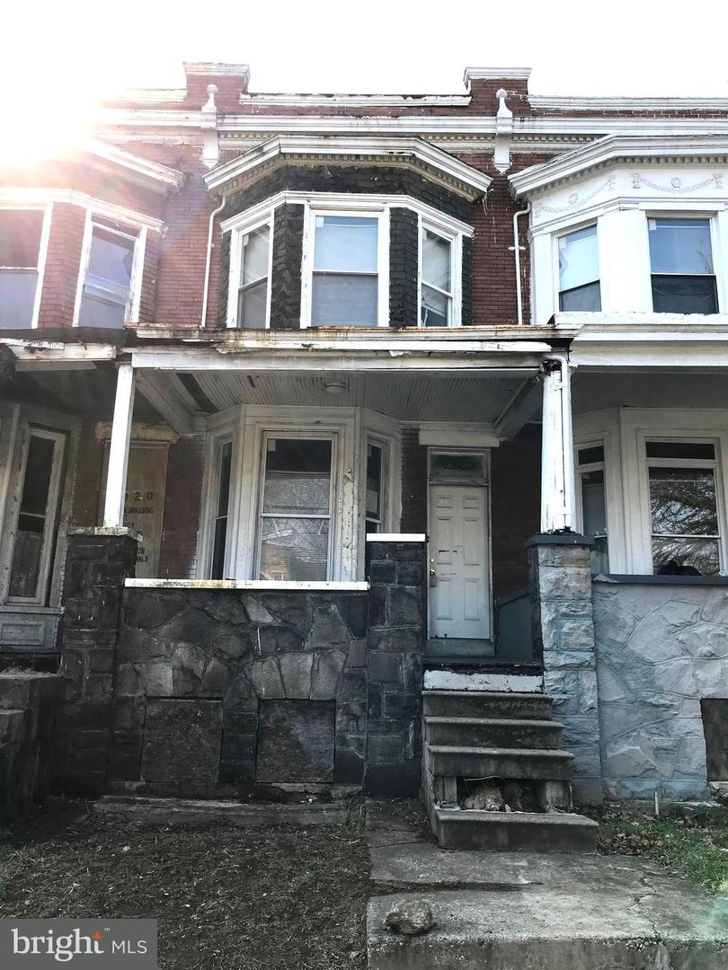 Single Family for Sale at 1022 Poplar Grove St Baltimore, Maryland 21216 United States