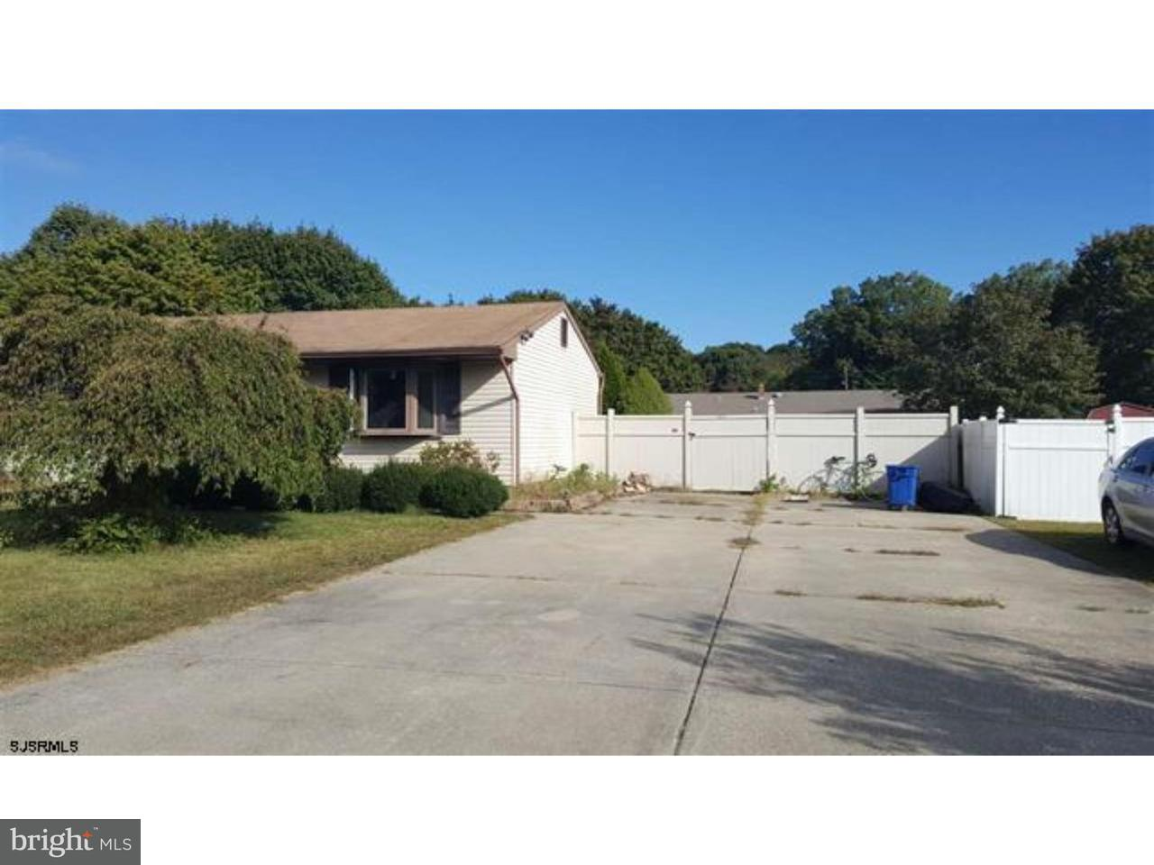 Single Family Home for Sale at 304 E PACIFIC Avenue Minotola, New Jersey 08341 United States