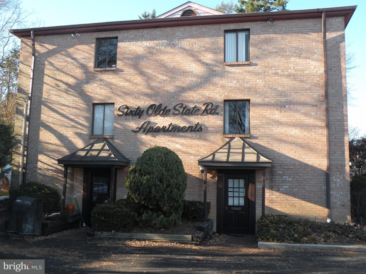Casa Unifamiliar por un Alquiler en 60 OLD STATE RD #9 Media, Pennsylvania 19063 Estados Unidos