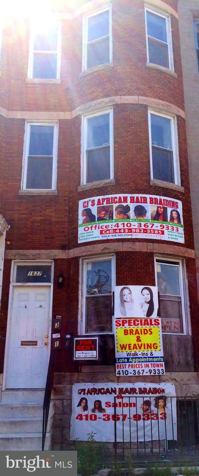Other Residential for Sale at 1637 North Ave Baltimore, Maryland 21217 United States
