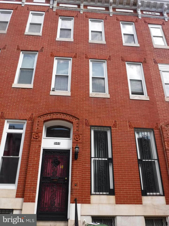 Single Family for Sale at 946 Harlem Ave Baltimore, Maryland 21217 United States