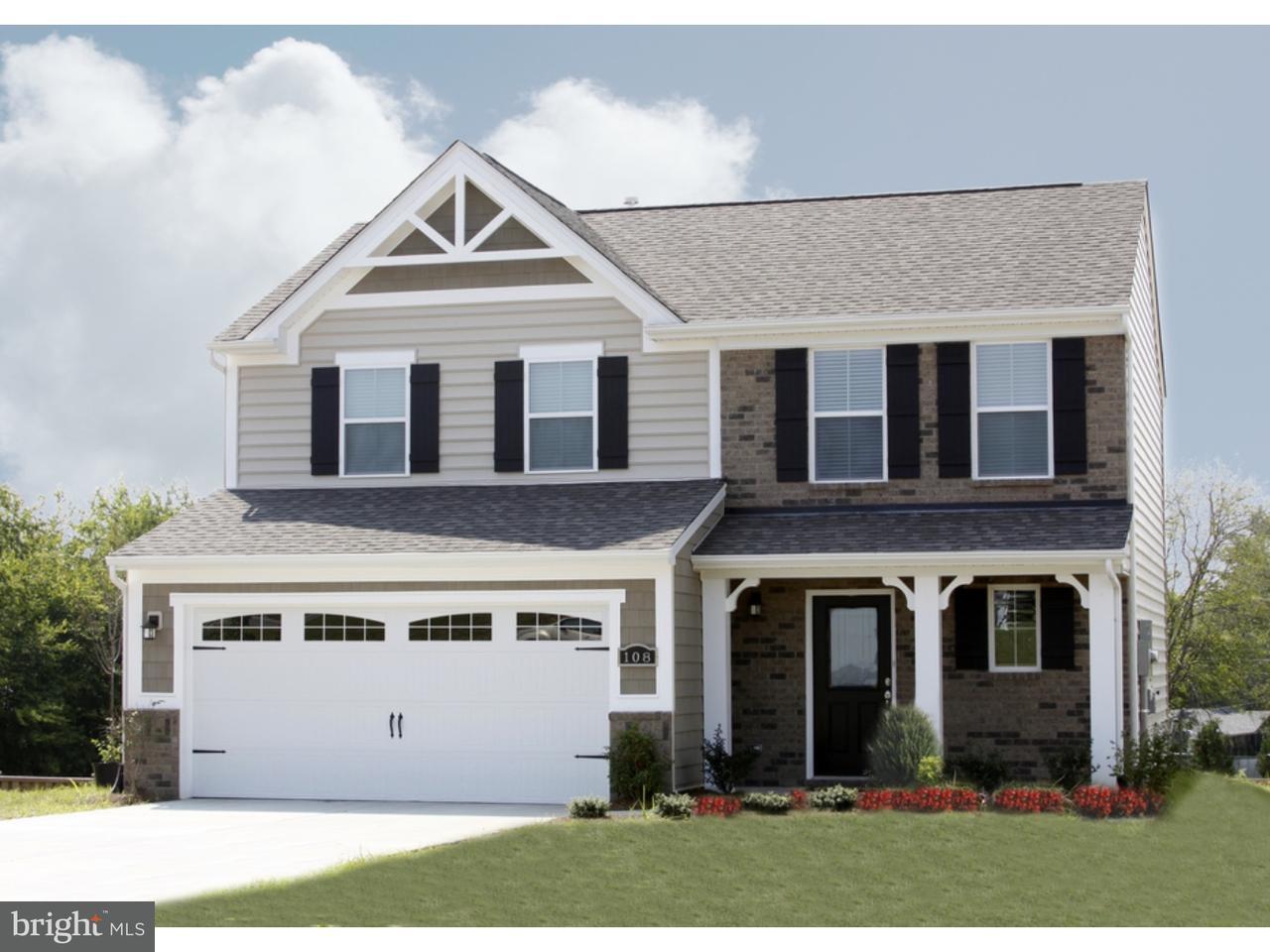 Maison unifamiliale pour l Vente à 1 PEAR TREE Court Delran, New Jersey 08075 États-Unis