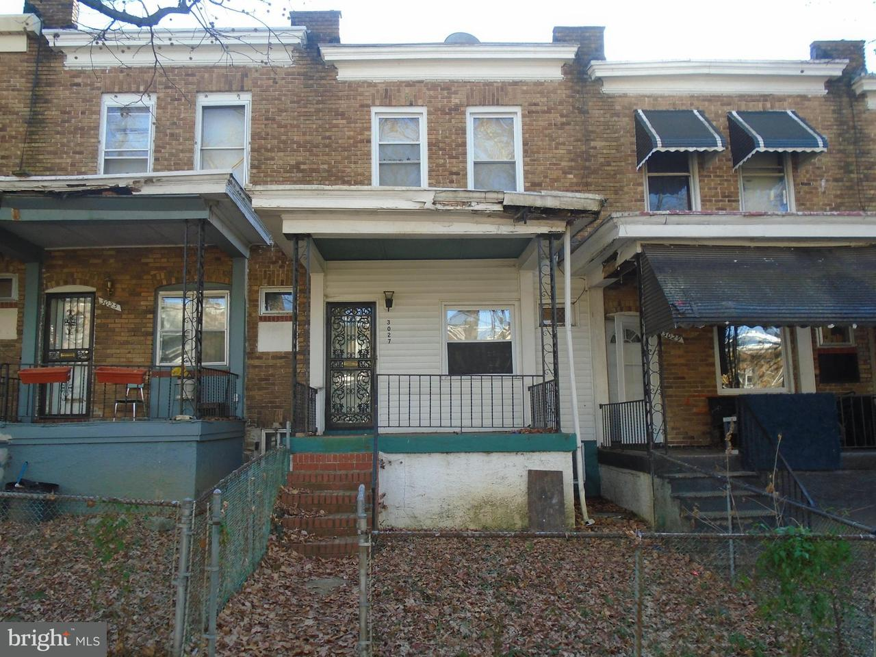 Single Family for Sale at 3027 Lanvale St W Baltimore, Maryland 21216 United States