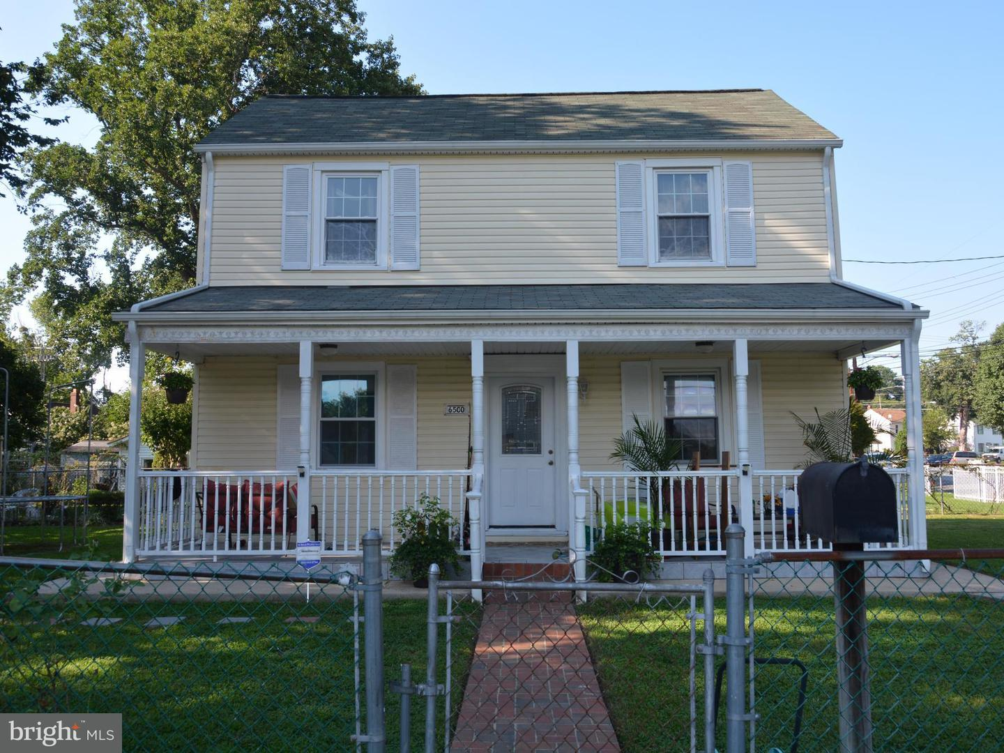 Photo of home for sale at 6500 20th Avenue, Hyattsville MD