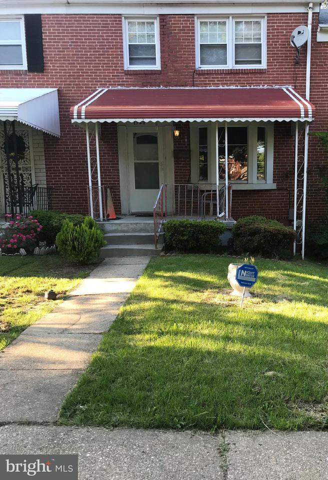 Single Family for Sale at 1320 Walker Ave Baltimore, Maryland 21239 United States