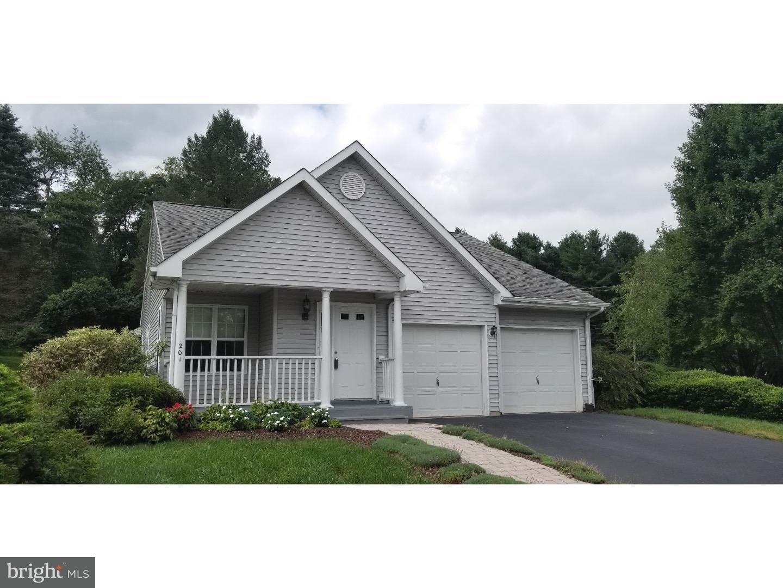 Maison unifamiliale pour l Vente à 201 PENN RIDGE Court West Grove, Pennsylvanie 19390 États-Unis