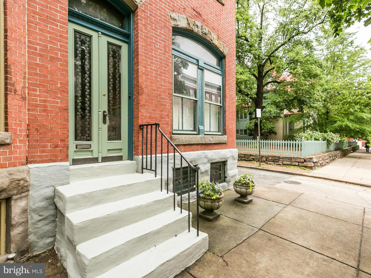 Single Family for Sale at 214 Lanvale St W Baltimore, Maryland 21217 United States