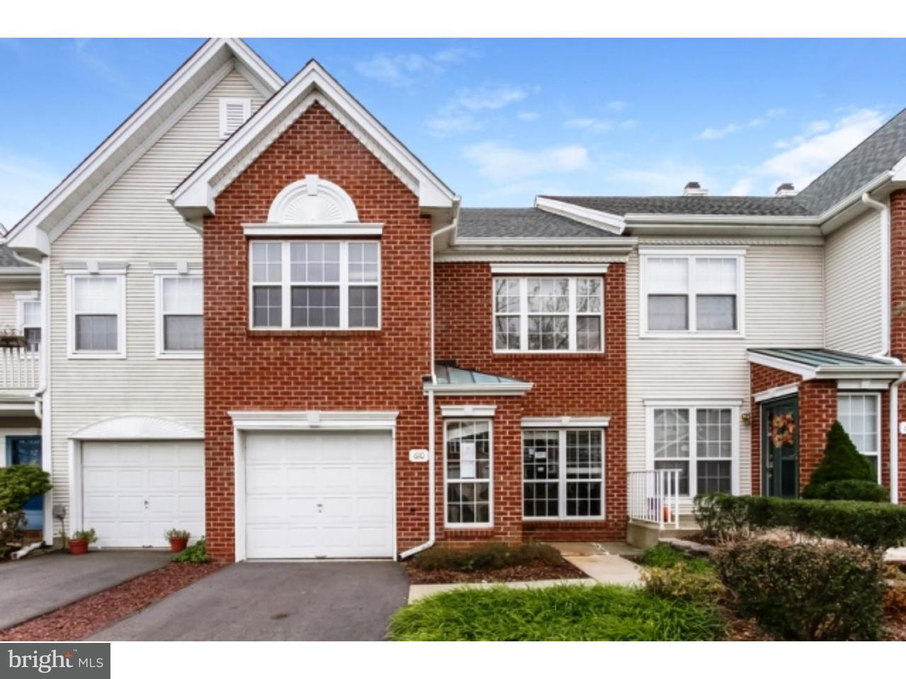 Townhouse for Sale at 610 PEBBLE CREEK Court Pennington, New Jersey 08534 United StatesMunicipality: Hopewell Township