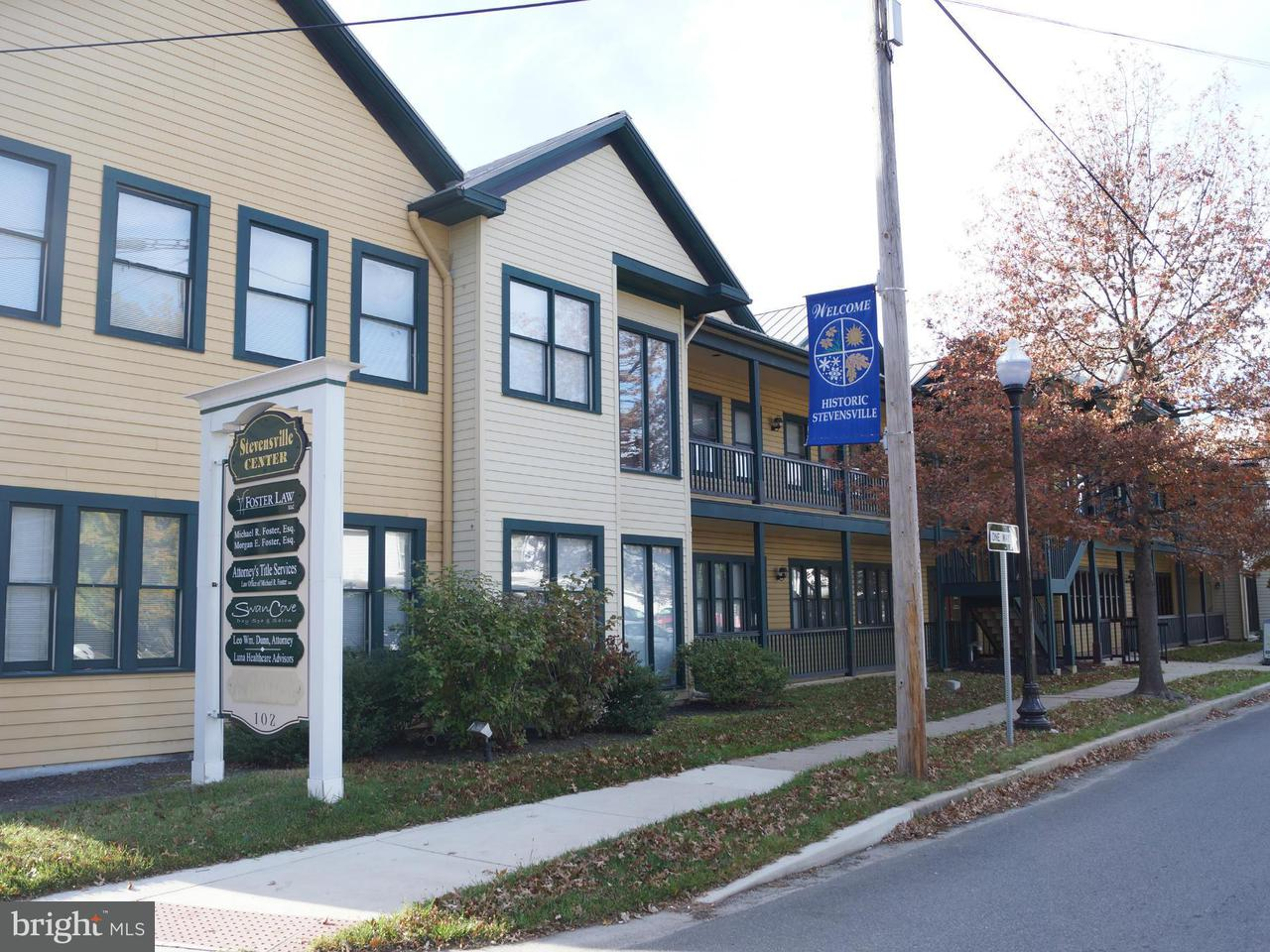 Commercial for Sale at 102 Main Street 102 Main Street Stevensville, Maryland 21666 United States
