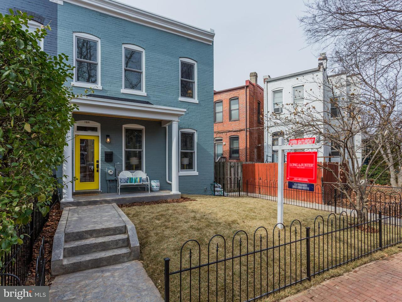 Townhouse for Sale at 104 14th St Ne 104 14th St Ne Washington, District Of Columbia 20002 United States