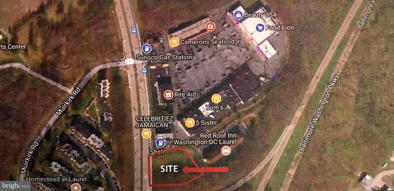 土地,用地 为 销售 在 12513 Laurel Bowie Road 12513 Laurel Bowie Road Laurel, 马里兰州 20708 美国
