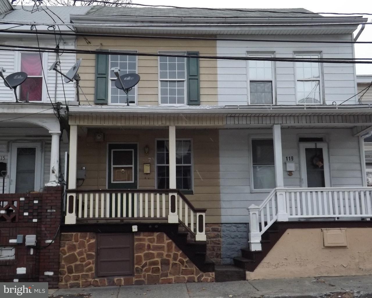 独户住宅 为 销售 在 117 E HANCOCK Street St. Clair, 宾夕法尼亚州 17970 美国