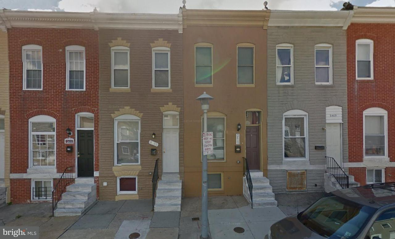 Single Family for Sale at 2409 Jefferson St Baltimore, Maryland 21205 United States