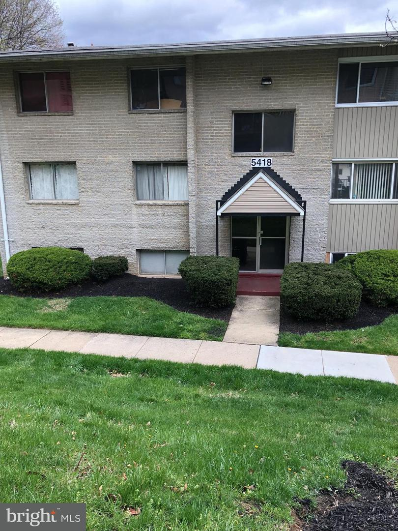 Single Family for Sale at 5418 85th Ave #201 New Carrollton, Maryland 20784 United States