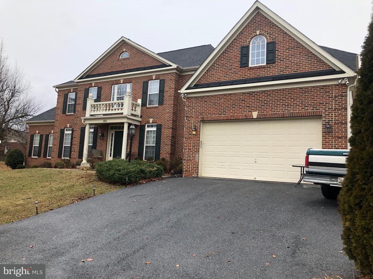 Casa Unifamiliar por un Venta en 1818 Granby Way 1818 Granby Way Frederick, Maryland 21702 Estados Unidos