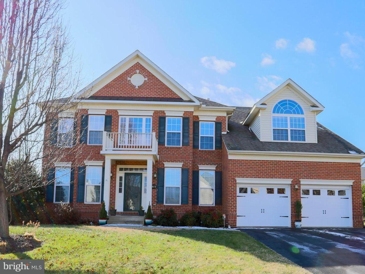Single Family Home for Sale at 1023 Hunters Knoll 1023 Hunters Knoll Myersville, Maryland 21773 United States