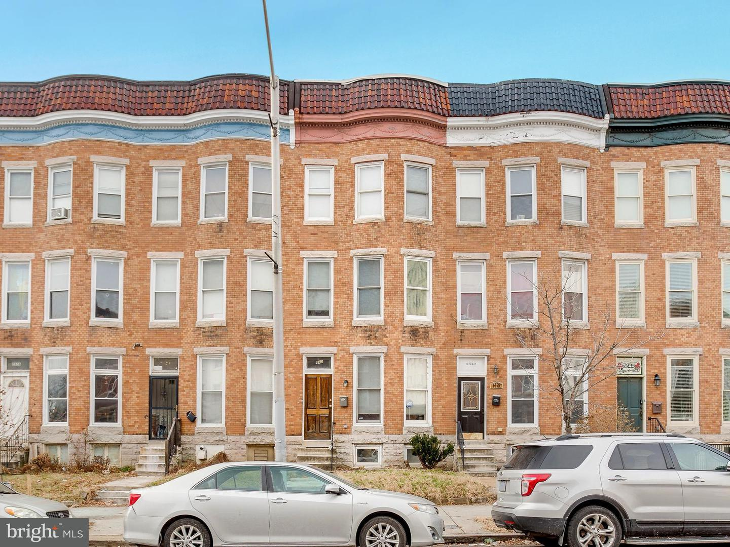 Single Family for Sale at 2640 Charles St N Baltimore, Maryland 21218 United States